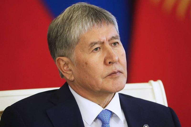 Алмазбек Атамбаев сдался властям Кыргызстана