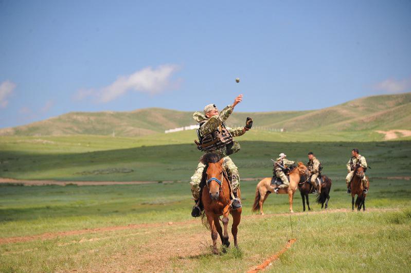 Қазақстанның атты әскері «АрМИ-2019» марафонында жүлдегер атанды