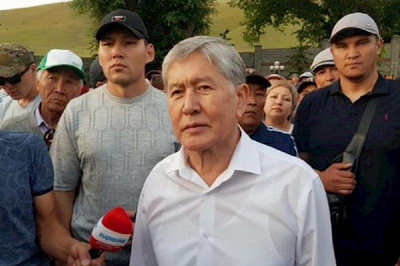МВД Кыргызстана официально сообщило о задержании Атамбаева