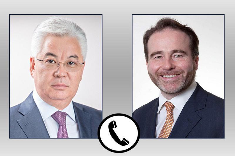 哈萨克斯坦与英国进一步加强战略伙伴关系