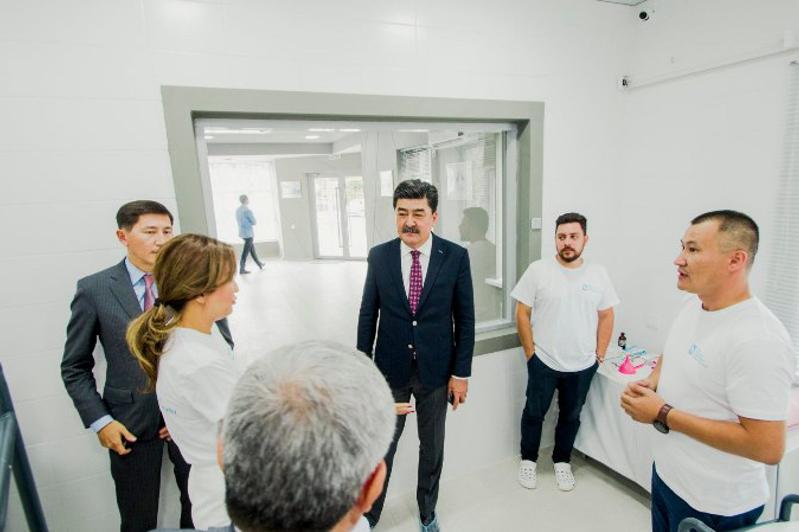 Центр реабилитации каспийского тюленя открыли в Актау