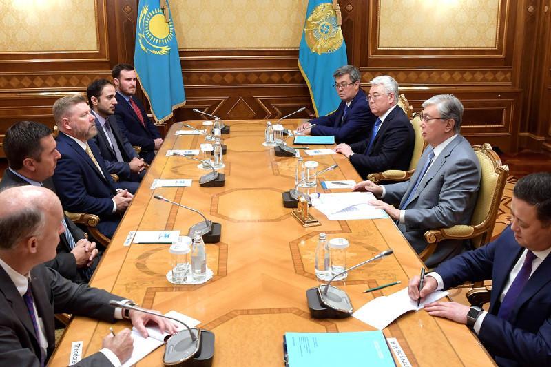 Касым-Жомарт Токаев принял конгрессменов США