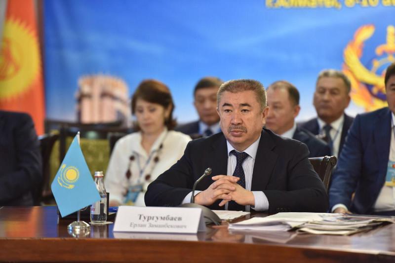 Казахстанские полицейские усилят взаимодействие с коллегами из приграничных стран в борьбе с кражами
