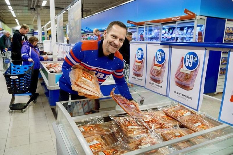 Норвежские продукты - самые дорогие в Европе