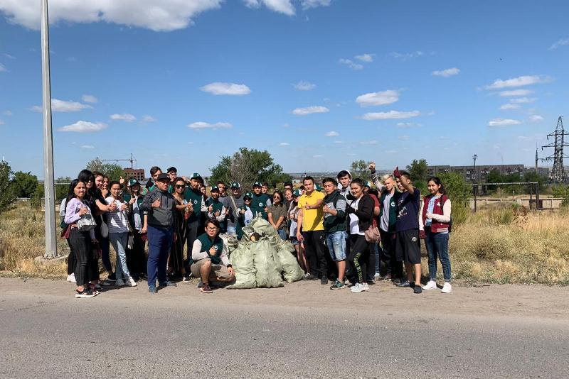 Свыше 6 тысяч жителей Карагандинской области присоединились к экосубботнику