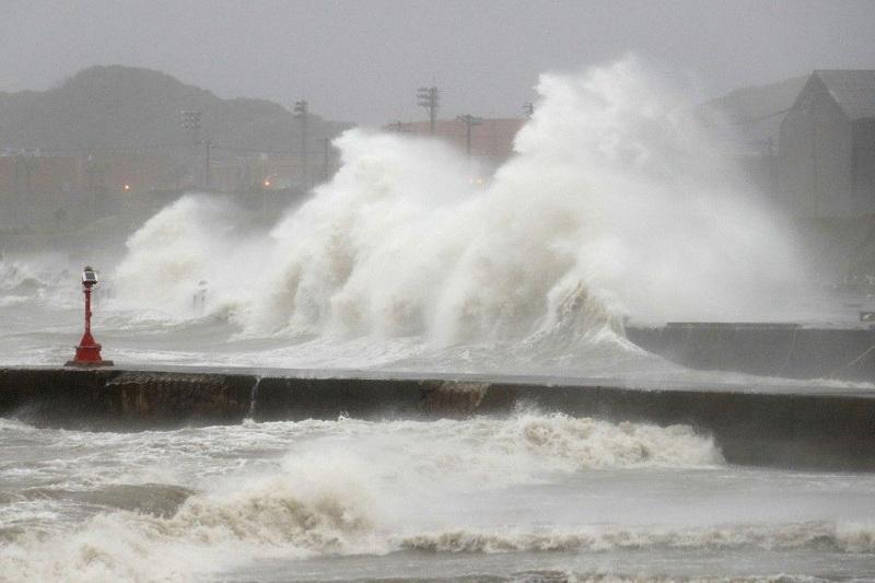 18 человек стали жертвами тайфуна «Лекима» в Китае