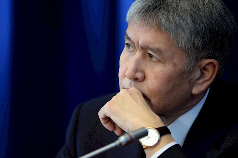 В доме Алмазбека Атамбаева изъяли огнестрельное оружие и боеприпасы