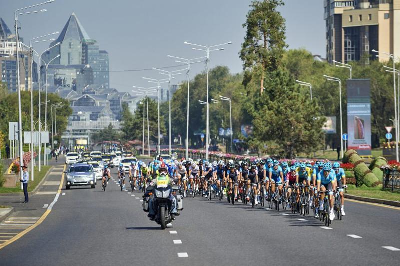Звезды мирового велоспорта приедут в Алматы в конце августа