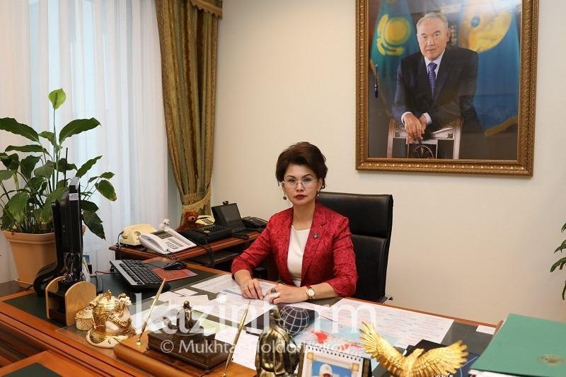Помощник Президента РК Аида Балаева приняла за неделю более 100 граждан