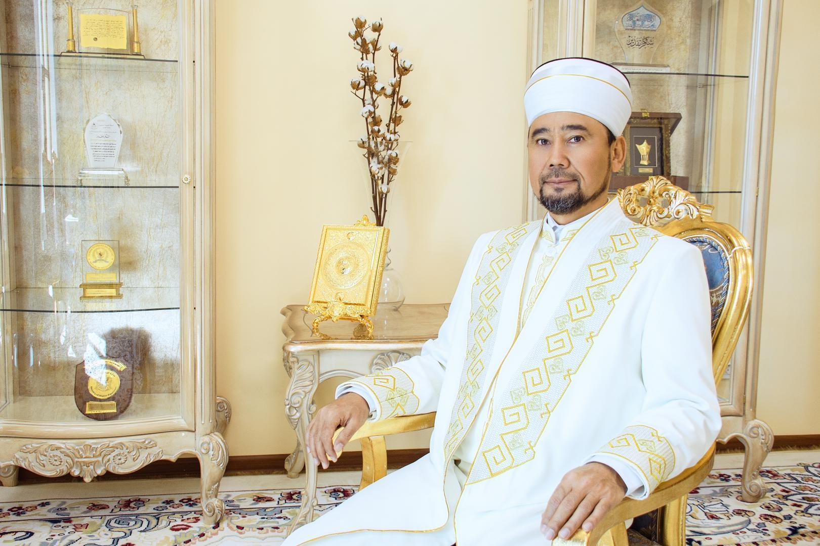 哈萨克斯坦总穆夫提向全体国民致古尔邦节祝贺