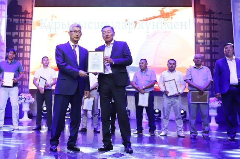 Лучших строителей чествовали в Мангистауской области