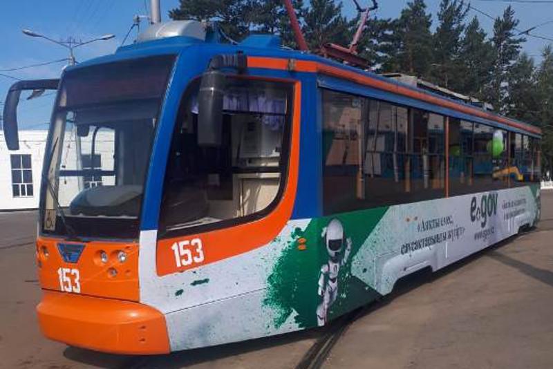 Павлодарда «Мемлекеттік қызмет алу үшін – трамвайға кел» акциясы басталды