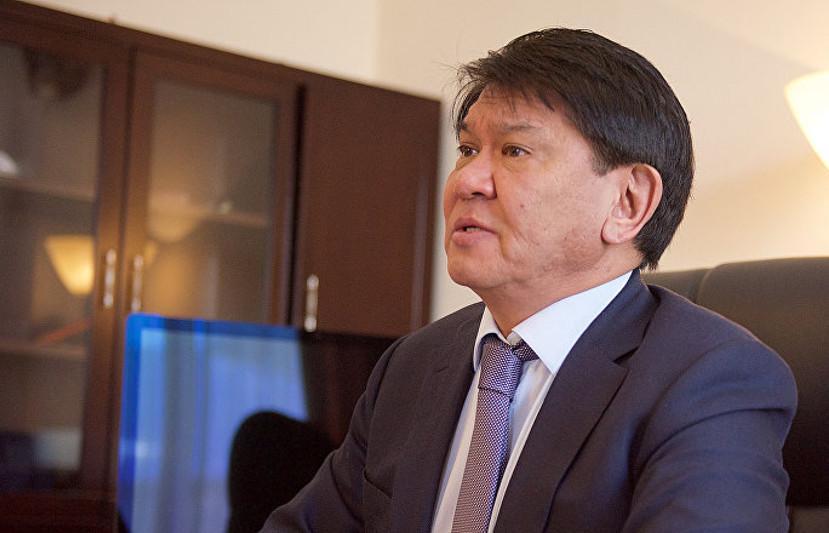哈萨克斯坦驻白俄罗斯大使卸任