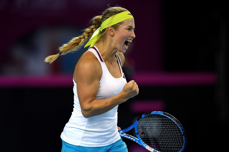WTA排名:尤利娅•普婷塞娃保持原位