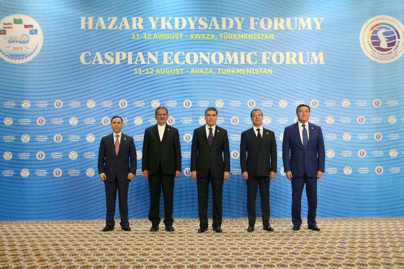 Аскар Мамин принял участие в I Каспийском экономическом форуме в Туркменистане