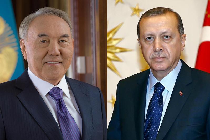 纳扎尔巴耶夫应约同土耳其总统通电话