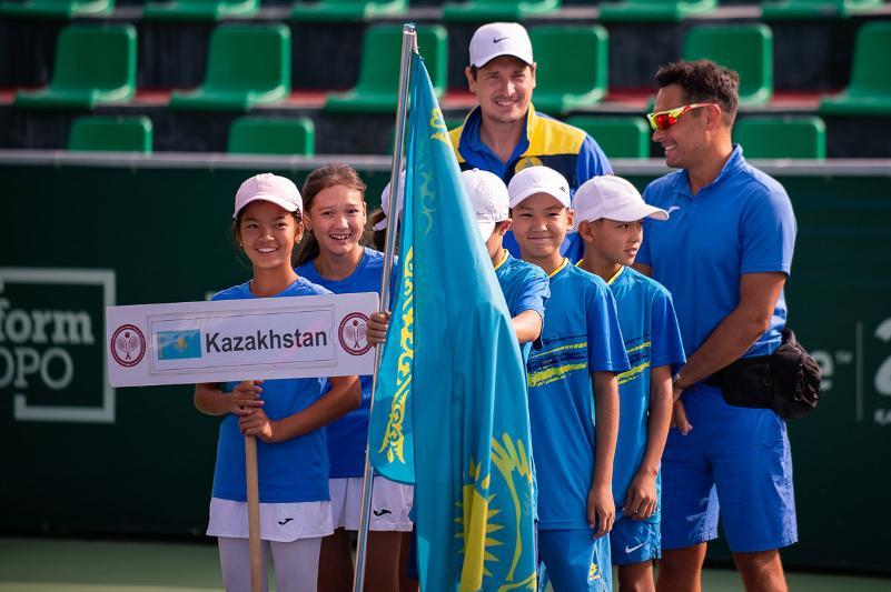 Финал Азиатского первенства среди теннисистов до 12 лет проходит в Нур-Султане