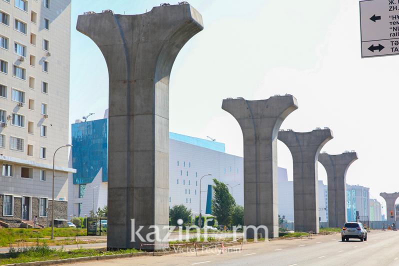 «Народный банк» и холдинг «Байтерек» помогут столице в строительстве LRT