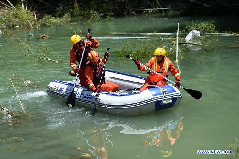 В Китае число жертв тайфуна «Лекима» возросло до 49 человек