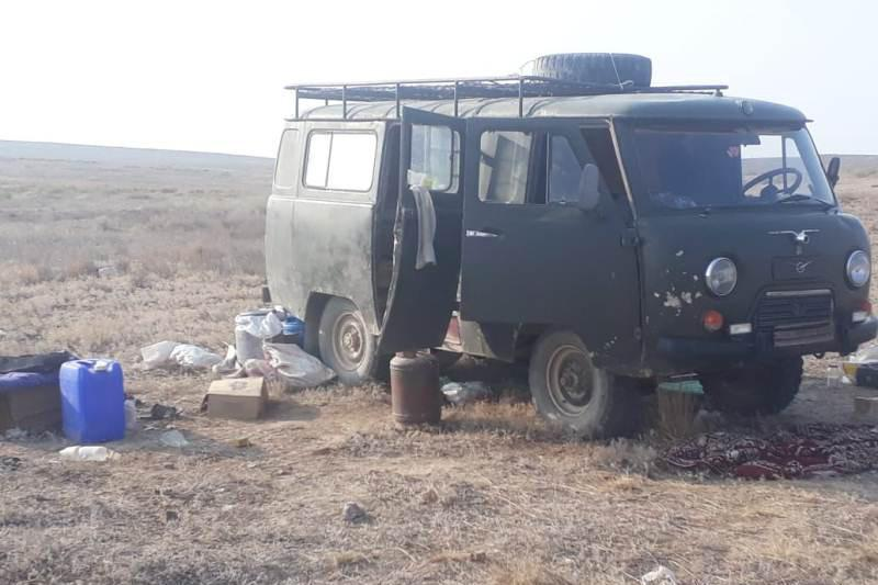 Восемь жителей Жамбылской области задержали за сбор золотосодержащих камней