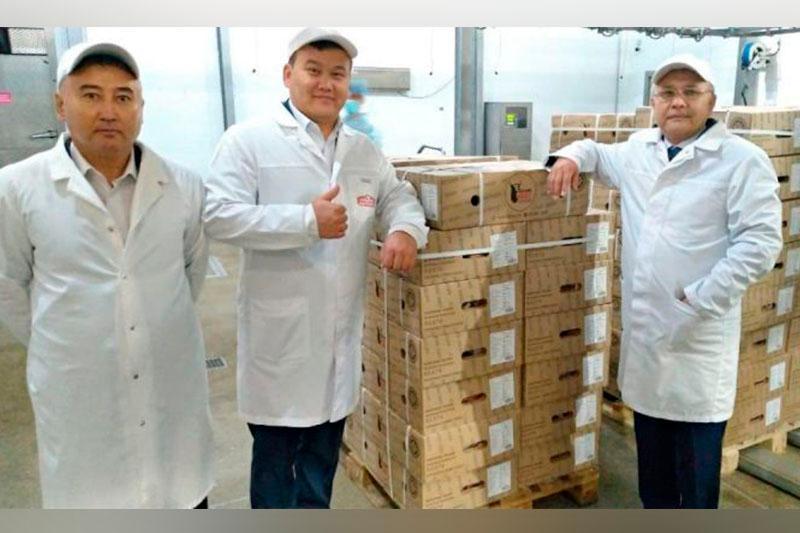 阿特劳州对华出口首批冷冻牛肉发货