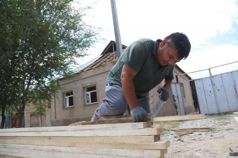 Жамбылдық құрылысшылар Арыстағы 300 үйді пайдалануға берді