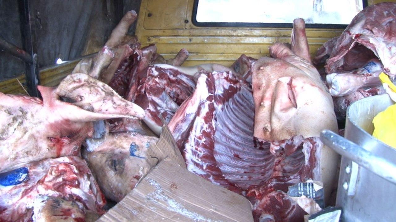 За реализацию мяса без документов наказывают поставщиков в СКО