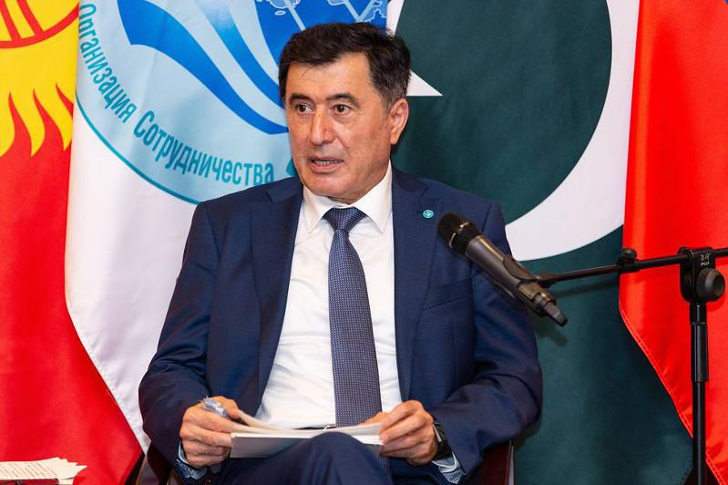 SCO head urges Caspian countries to cooperate in transport infrastructure development