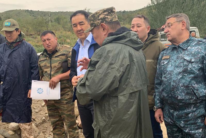 Организовываются противоселевые работы – акимат Алматы