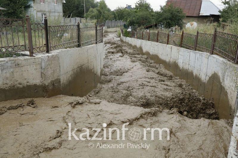 Алматы қалалық ТЖД: Сел қаупі болған аймақта 500-ден астам нысан орналасқан