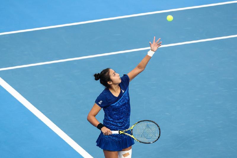 Зарина Дияс после отказа Серены Уильямс обыграла другую американку на турнире в США