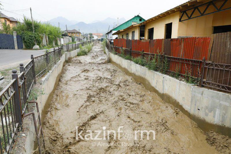 Причин для паники нет – ДЧС об угрозе схода селя в Алматы