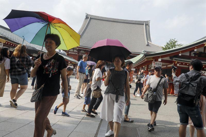 Свыше 13 тысяч человек госпитализированы в Японии из-за жары