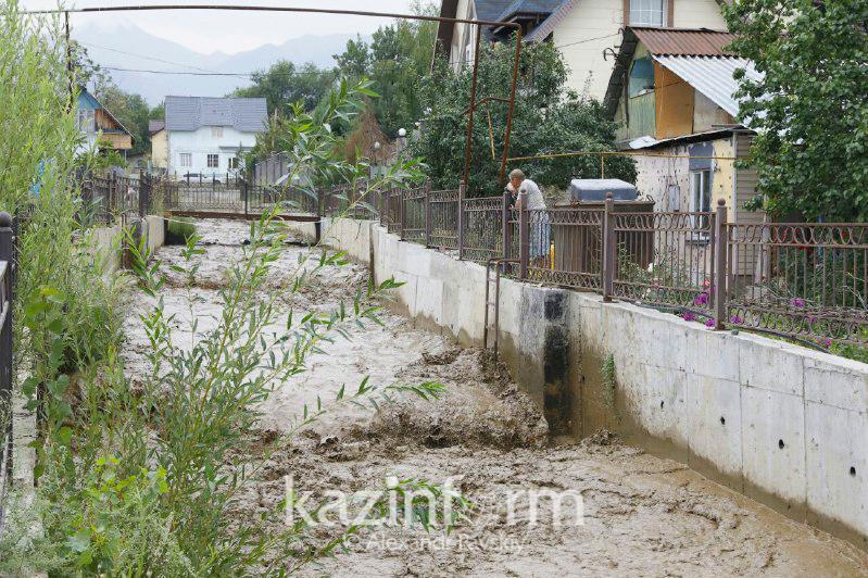 紧急情况委员会在阿拉木图发布山洪预警