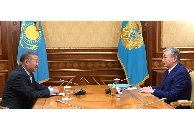 Зейнолла Самашев рассказал Главе государства о последних научных открытиях