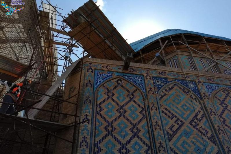 Полностью восстановят вентиляцию и освещение в мавзолее Кожа Ахмета Яссауи