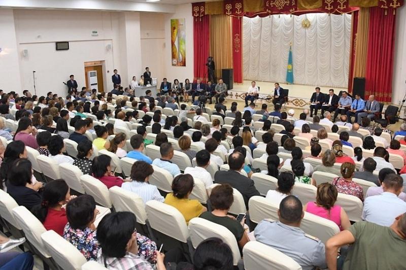 Что волнует жителей Наурызбайского района Алматы