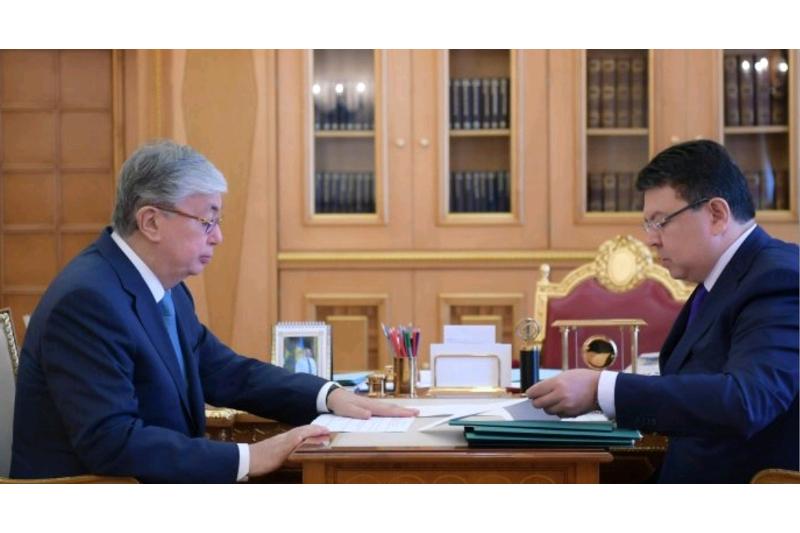 Энергетика министрі Мемлекет басшысына не жайында баяндады