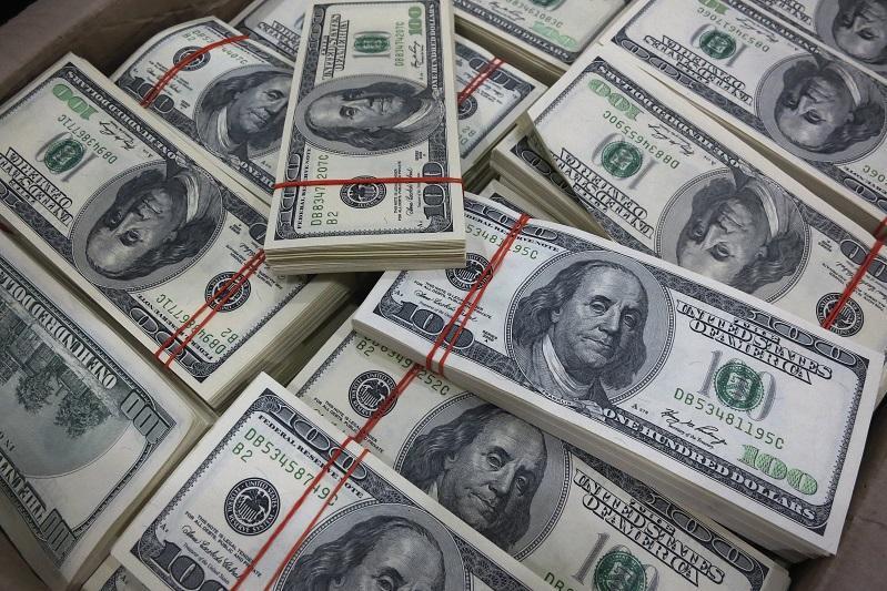 KASE: курс доллара понизился на 1,3 тенге