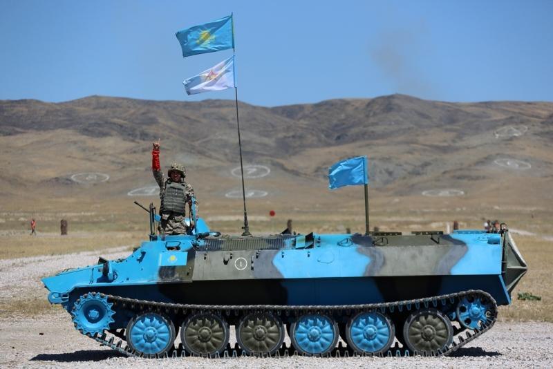 Тремя золотыми медалями пополнилась копилка казахстанских военных на Армейских играх