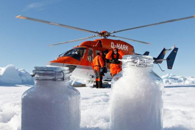 Арктиканың адам аяғы тимеген мұзынан пластик табылды