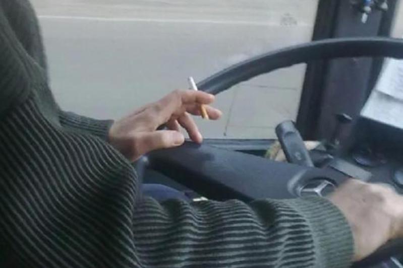 15 водителей автобусов наказали за курение за рулем в Кокшетау