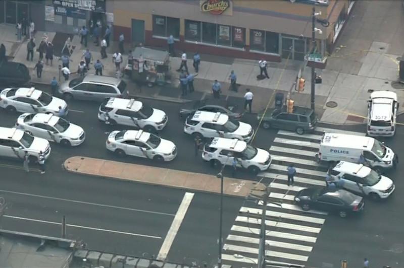 美国费城发生枪击案数名警察受伤