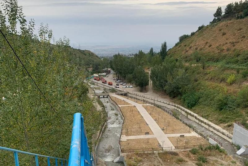 Пропуск воды по руслу реки Каргалы осуществляется в штатном режиме – ДЧС Алматы