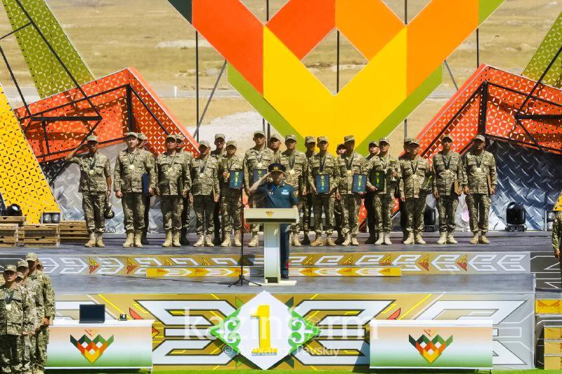 Главнокомандующий Сухопутными войсками РК подвел итоги Армейских игр