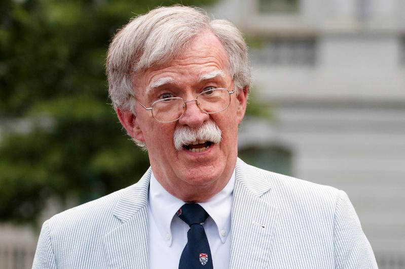 Bolton says N.K. missile launches violate UN resolutions, threaten allies