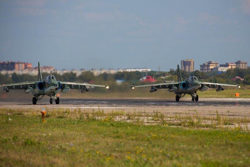 Казахстанские экипажи Су-25 признаны лучшими штурмовиками на «Авиадартс»