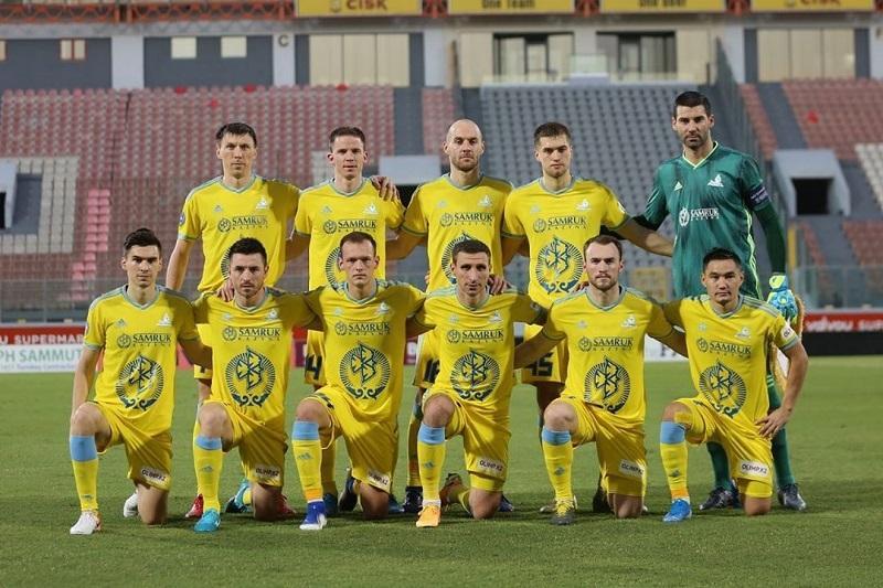 欧联杯:阿斯塔纳球队成功晋级附加赛