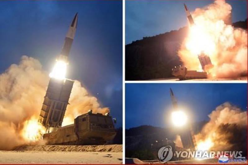 КНДР запустила два неопознанных снаряда в Японское море