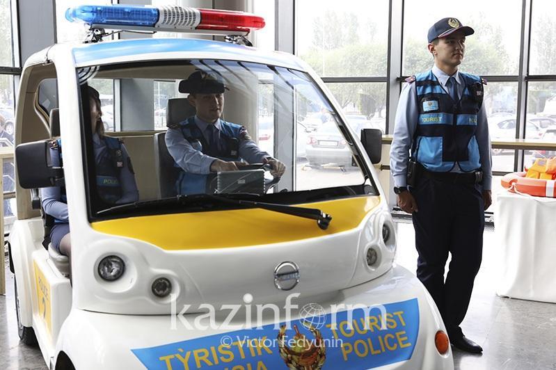阿拉木图国际机场开设旅游警察服务站